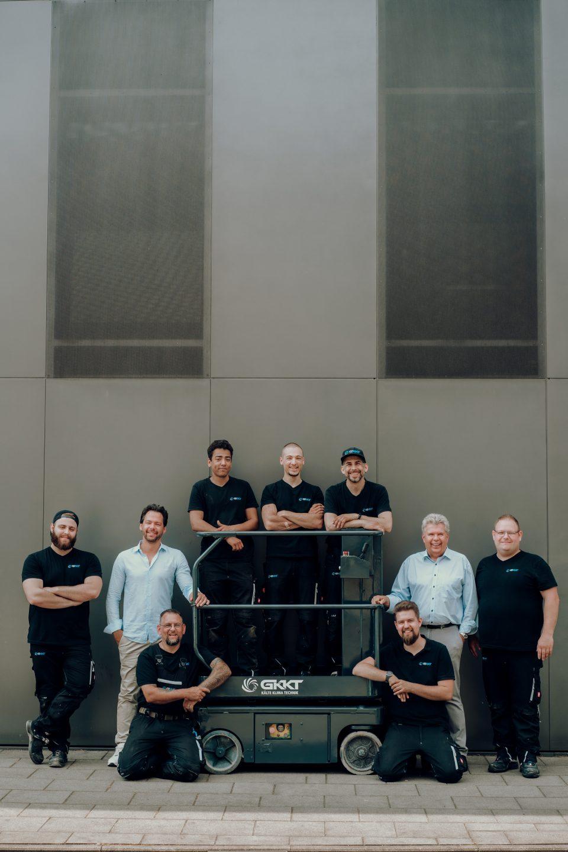 G-KKT Teamfoto auf Steiger
